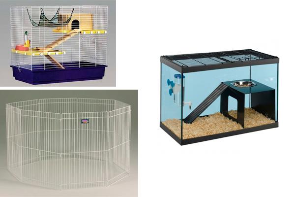 Клетка, вольер, аквариум с крышкой.