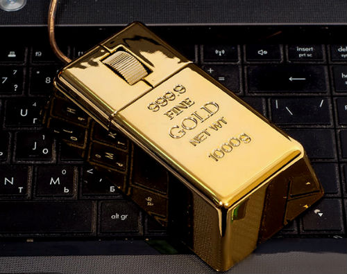 Слитку золота любой будет рад, пусть даже и бутафорскому.