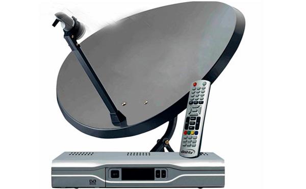 Подключите спутниковое телевидение.