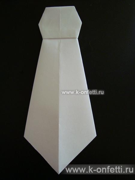 Оригами галстук.