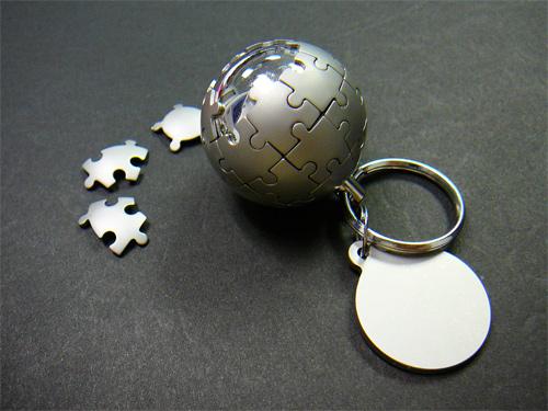 Стильный брелок для ключей.