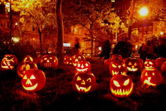 Тыква Джек - главный атрибут Хэллоуина.