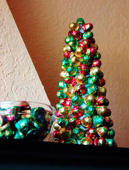 Как сделать елку из конфет своими руками.