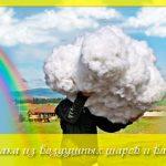 Как сделать облако из воздушных шаров и ваты (мастер-класс)