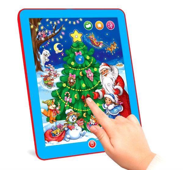 Детский новогодний планшетик.