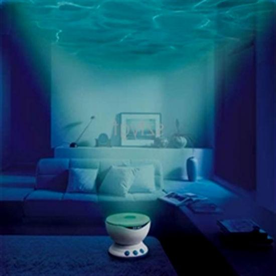Проектор океана - очень красивое зрелище.