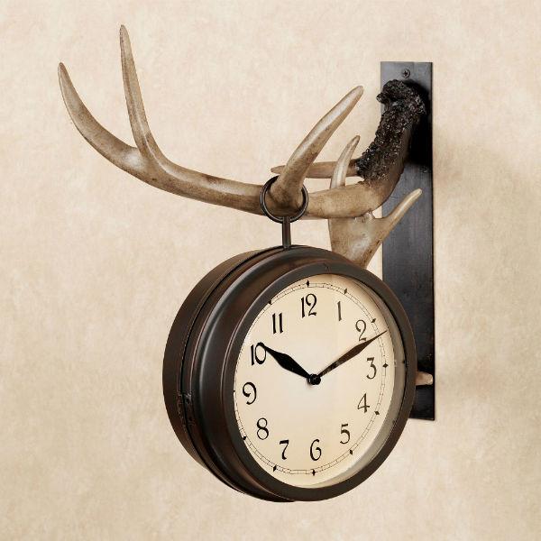 Двусторонние часы - оригинальное решение.