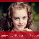 Выбираем самые лучшие подарки девочке на 12 лет