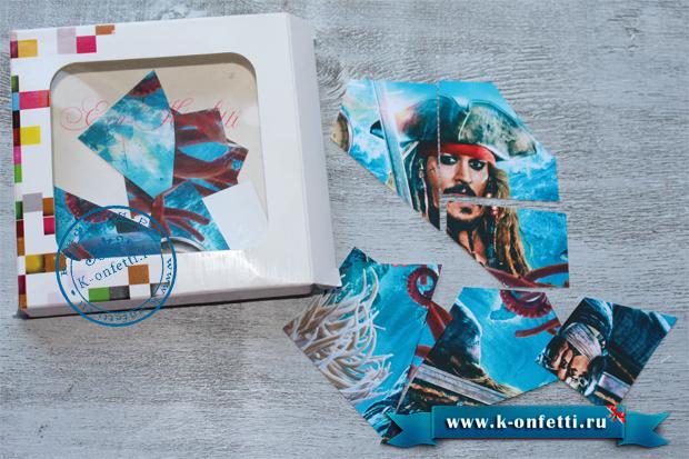 "Ящик с подарками в стиле ""Пиратов Карибского моря"" своими руками"