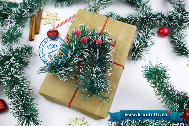 Как упаковать новогодние подарки своими руками (6 классных идей)