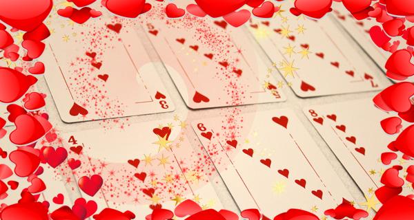 Как сделать гирлянду из игральных карт на День Святого Валентина