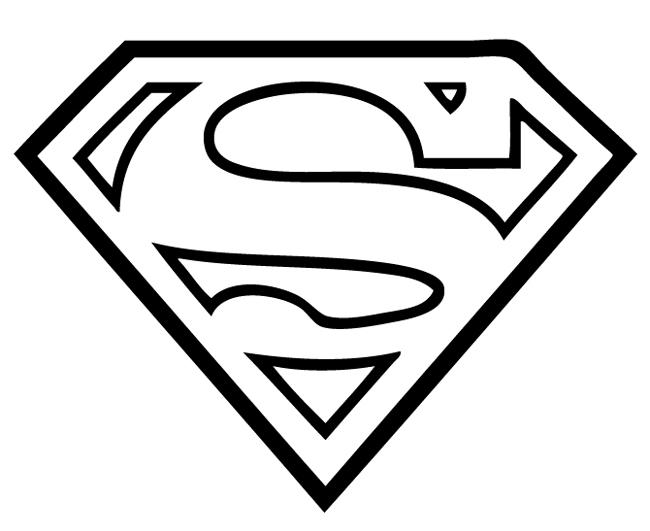 Значок супермена фото