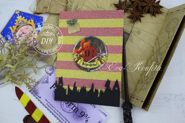 Как сделать открытки в стиле Гарри Поттера своими руками (7 идей)