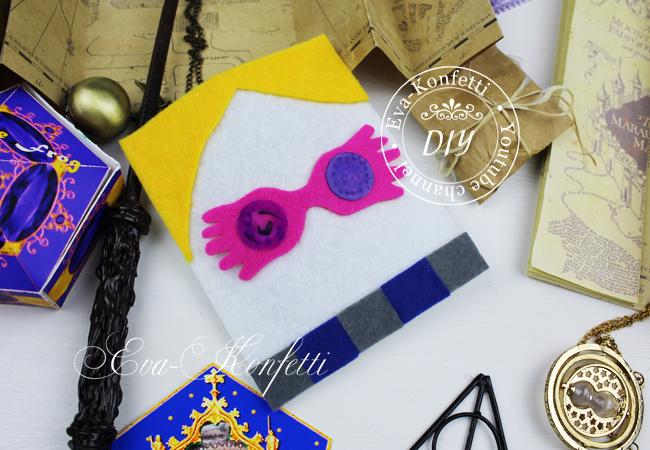 Как сделать подарки в стиле факультета Когтевран из Гарри Поттера