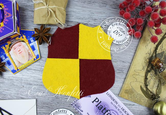 Как своими руками сделать подарки в стиле факультета Гриффиндор из Гарри Поттера
