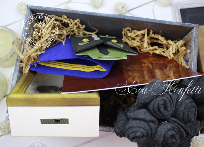 Как сделать классные подарки на 23 февраля своими руками. Men gift box