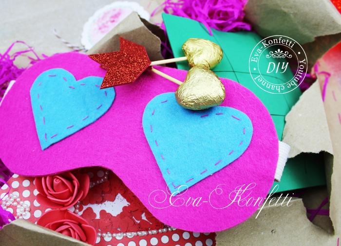 Подарки на День Святого Валентина своими руками (6 идей)