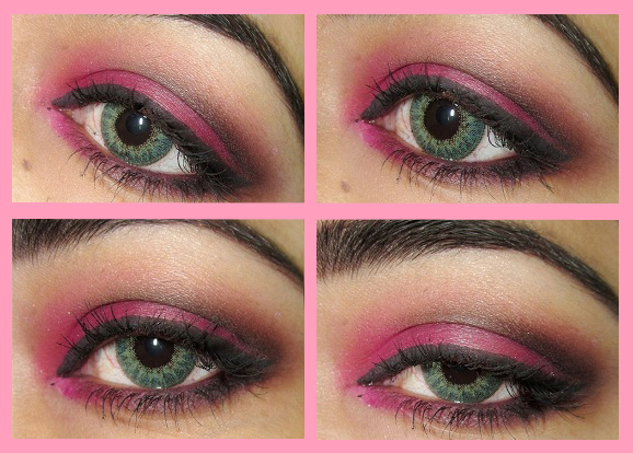 Весенний макияж в ярких розовых тонах к 8 марта своими руками