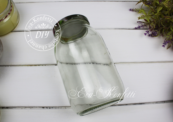 Что сделать из стеклянных банок: стильный декор своими руками (видео МК)