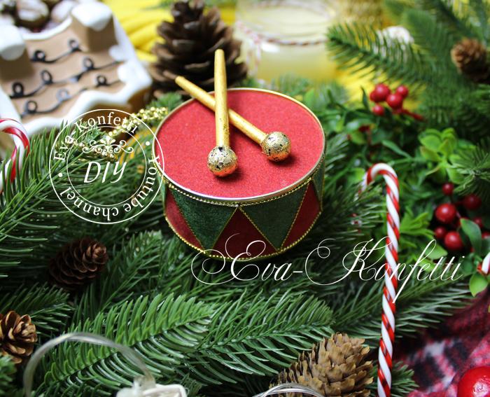 Красивые новогодние игрушки на елку своими руками в ретро-стиле (видео МК)