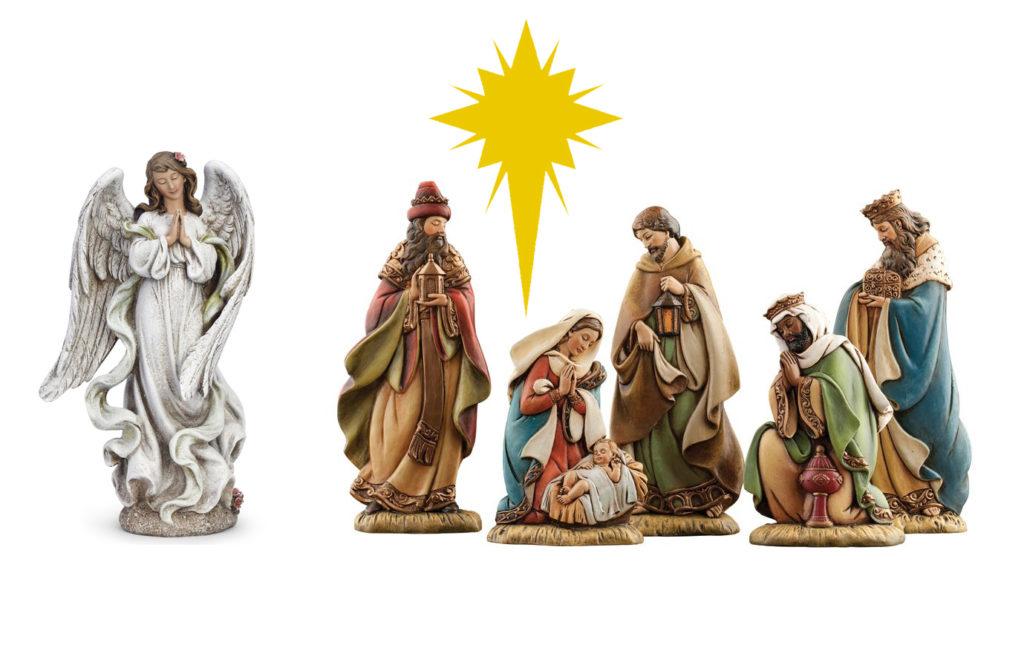 Шаблоны Рождественского вертепа