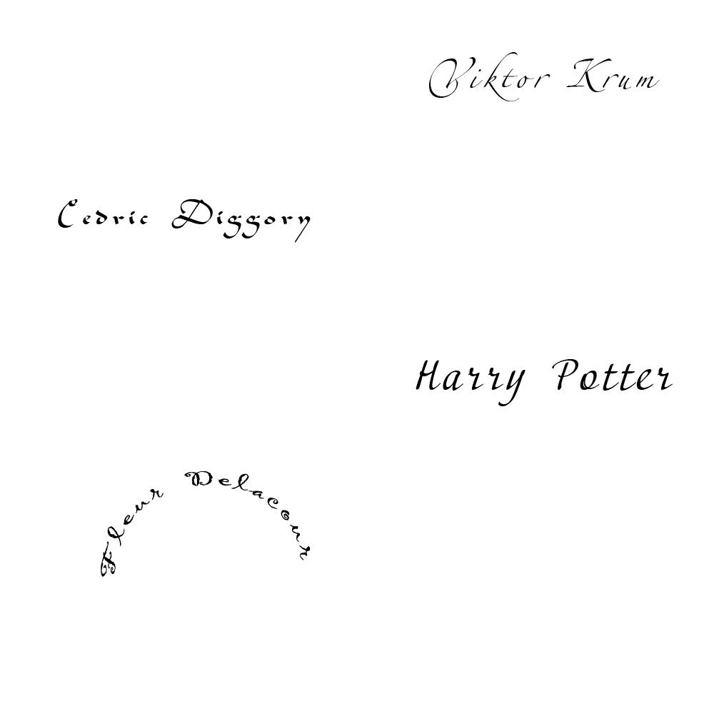 """Шаблоны для видео """"Подарки в стиле Гарри Поттера"""""""