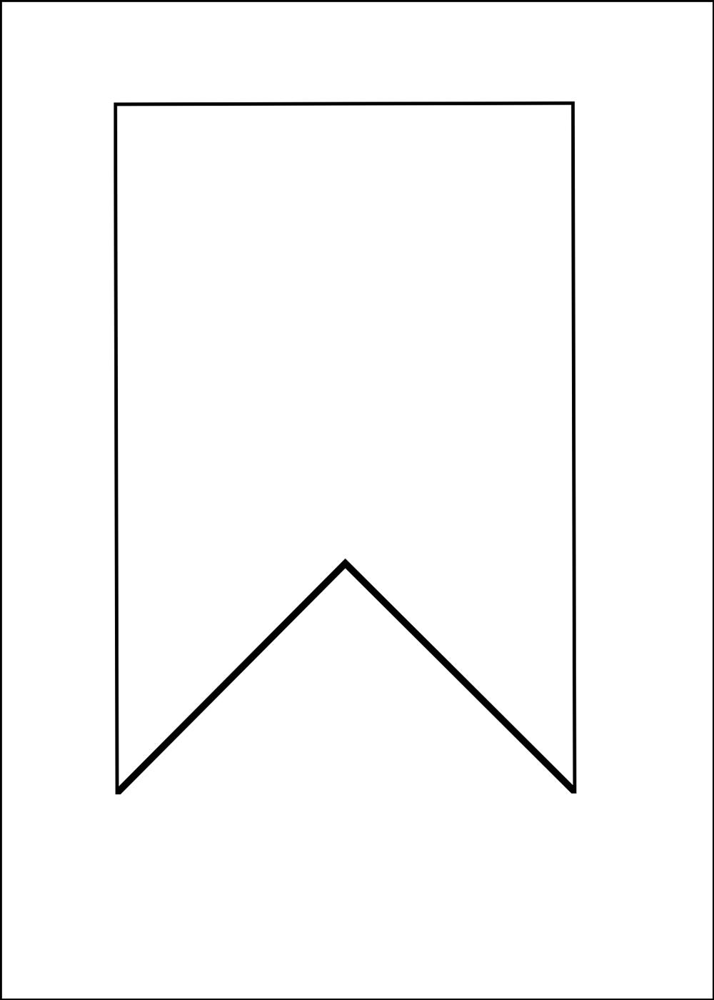 Шаблоны пряничного домика из картона и флажка